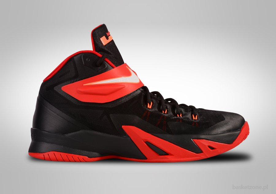 NIKE ZOOM SOLDIER VIII LEBRON UNIVERSITY RED