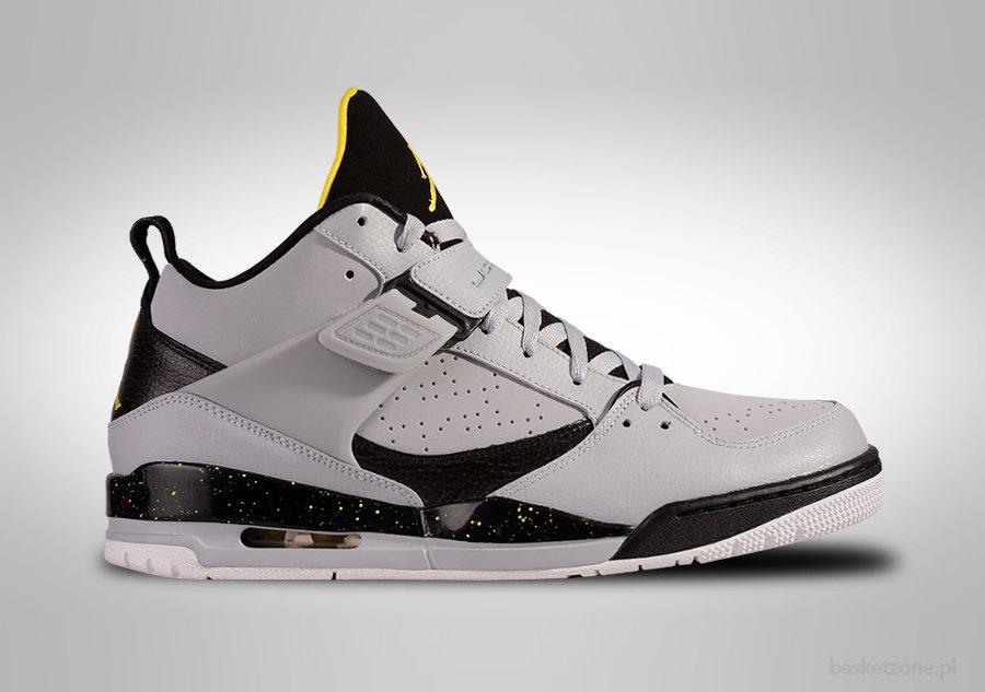 Nike Air Jordan Vol 45 Loup Gris Vibrant Couleur Jaune coût de sortie achats Meilleure vente jeu dédouanement bas prix ZRHqN608OO