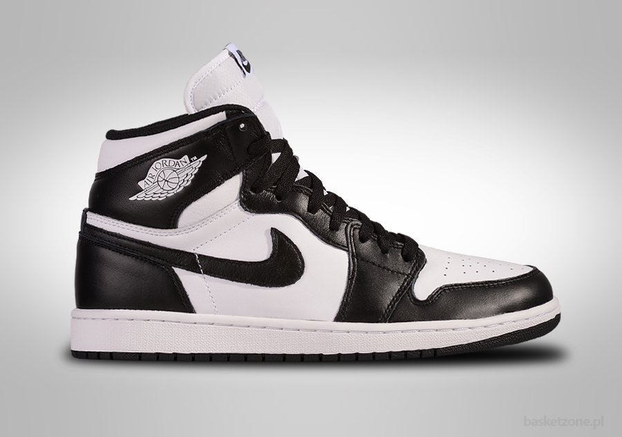 NIKE AIR JORDAN 1 RETRO HIGH OG BLACK WHITE