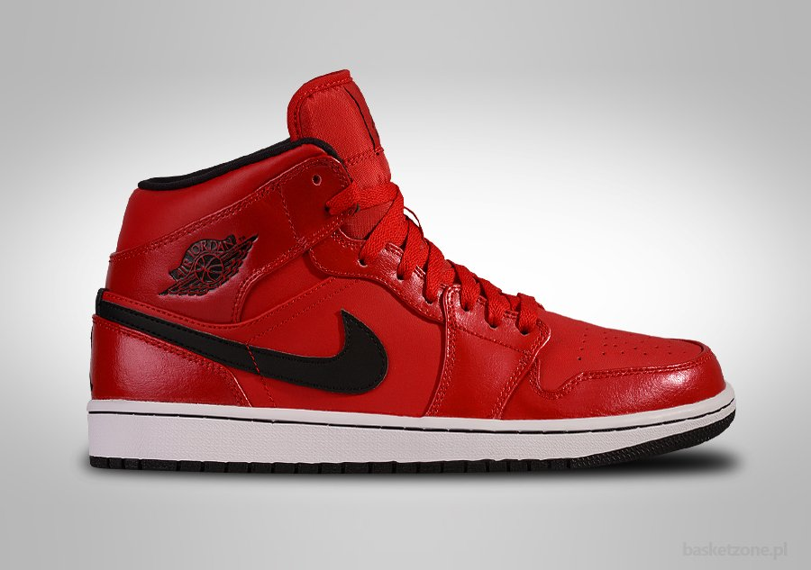 NIKE AIR JORDAN 1 RETRO MID BLOODY RED