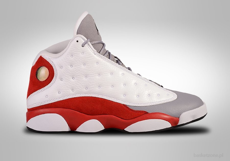 brand new a704a e7479 NIKE AIR JORDAN 13 RETRO GREY TOE