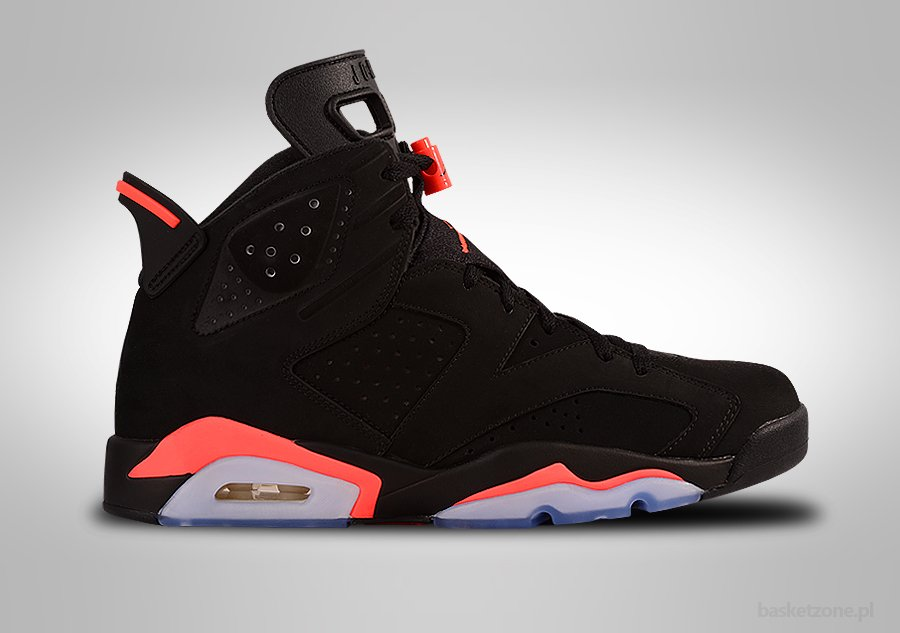 NIKE AIR JORDAN 6 RETRO BLACK INFRARED GS GRADE SCHOOL (SMALLER SIZES)