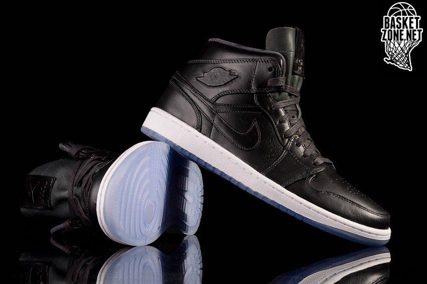 Nike Air Jordan 1 Mediados Nouveau Hielo Negro E0NIiT5jF