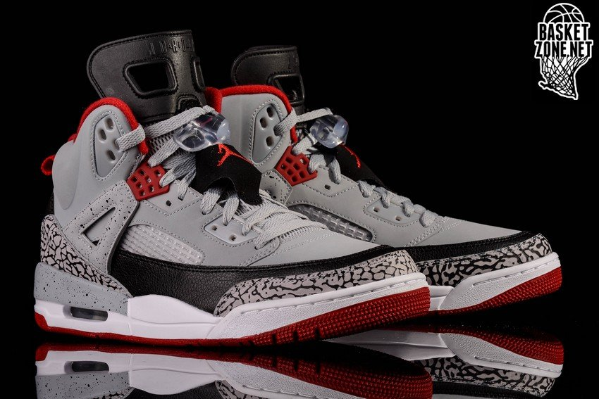 uk availability e9f51 af214 ... new arrivals nike air jordan spizike wolf grey gym red cement 947d9  73008
