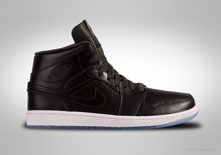 new concept 11c02 85aa8 NIKE AIR JORDAN 1 RETRO MID NOUVEAU BLACK ICE price €92.50   Basketzone.net