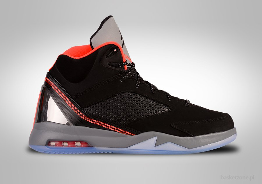 Nike Futur Vol Jordan Remix Infrarouge Noir 6