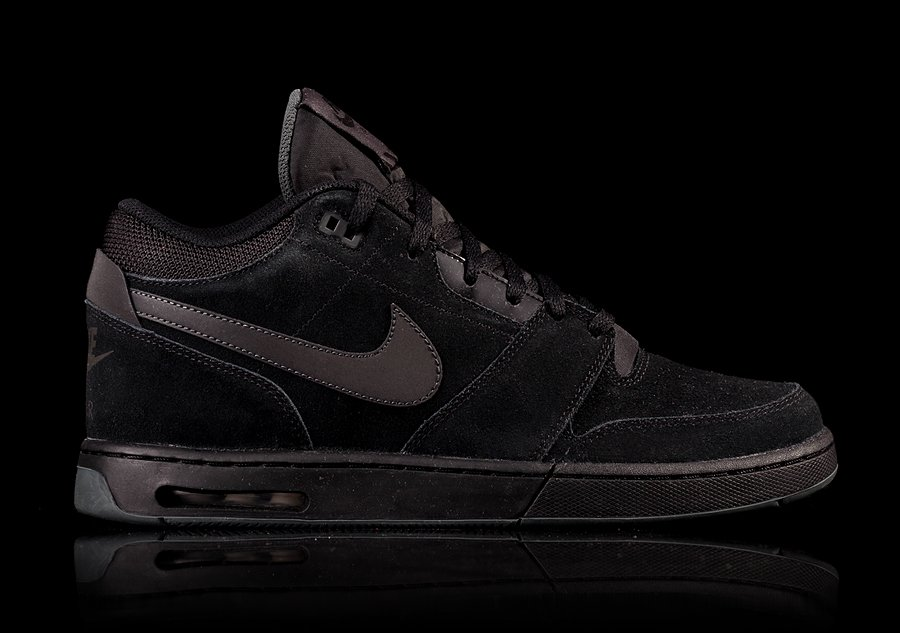 NIKE AIR STEPBACK PREMIUM BLACK