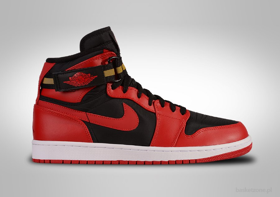 nike air jordan high strap bred