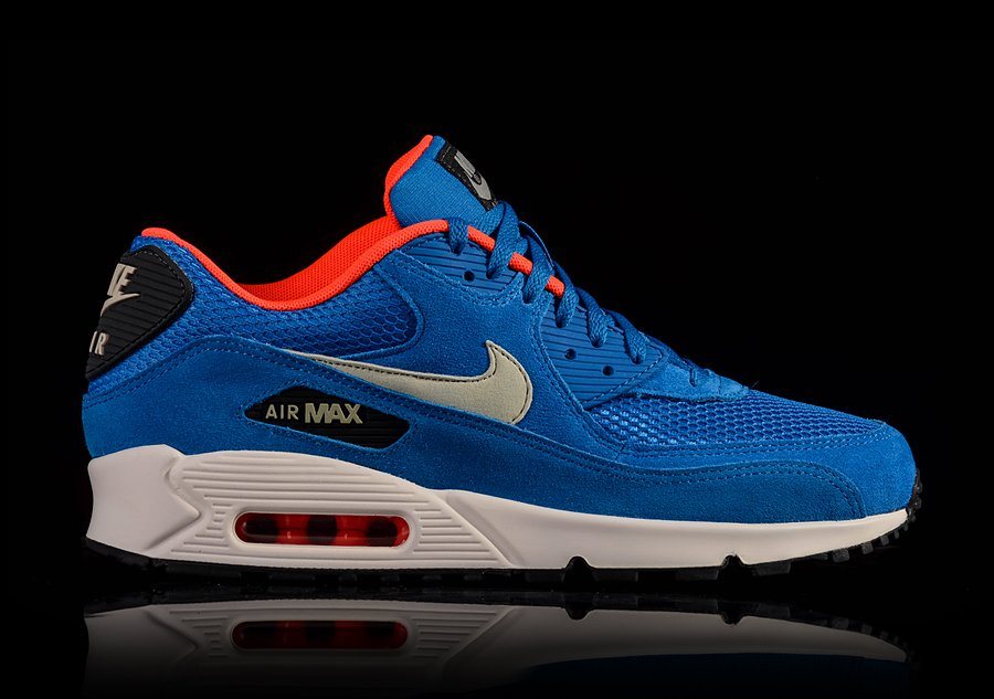 NIKE AIR MAX 90 DARK ELECTRIC BLUE
