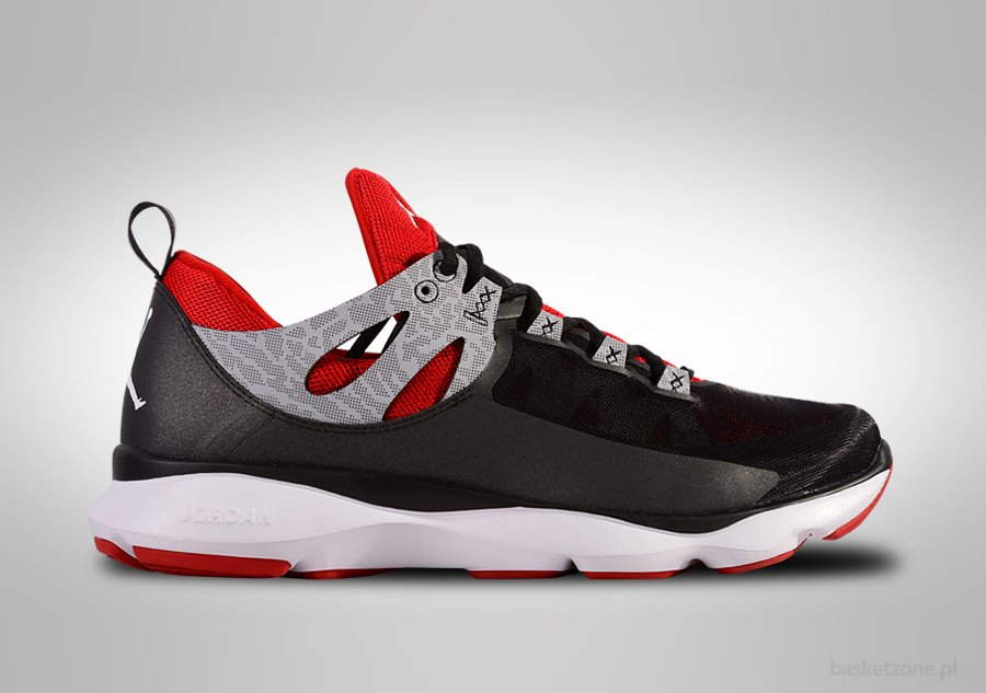NIKE AIR JORDAN FLIGHT RUNNER BLACK RED