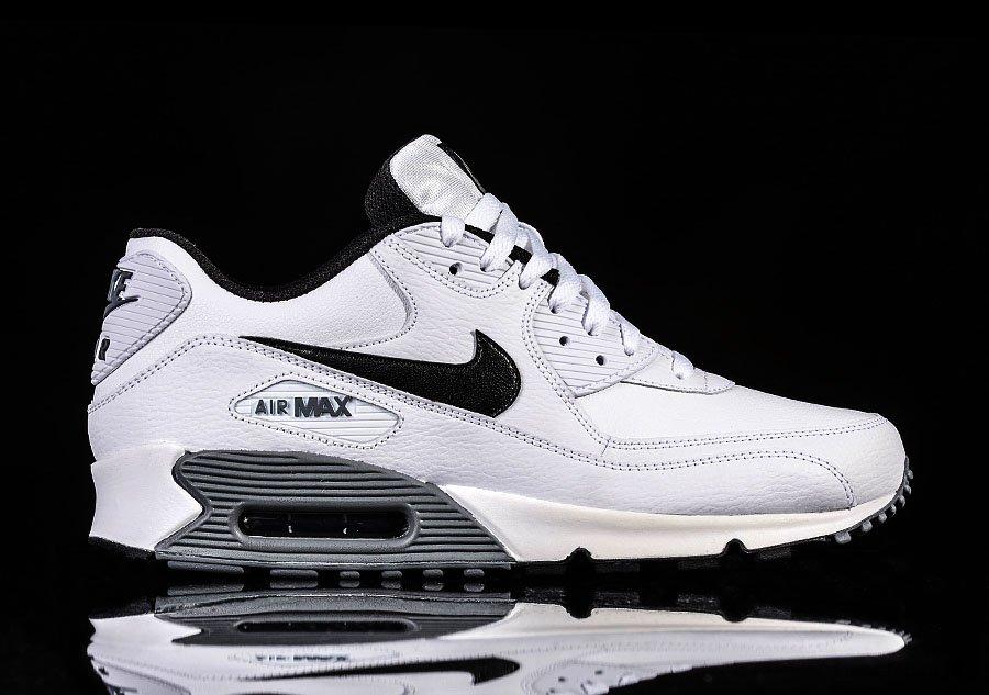 nike air max 90 white black cool grey