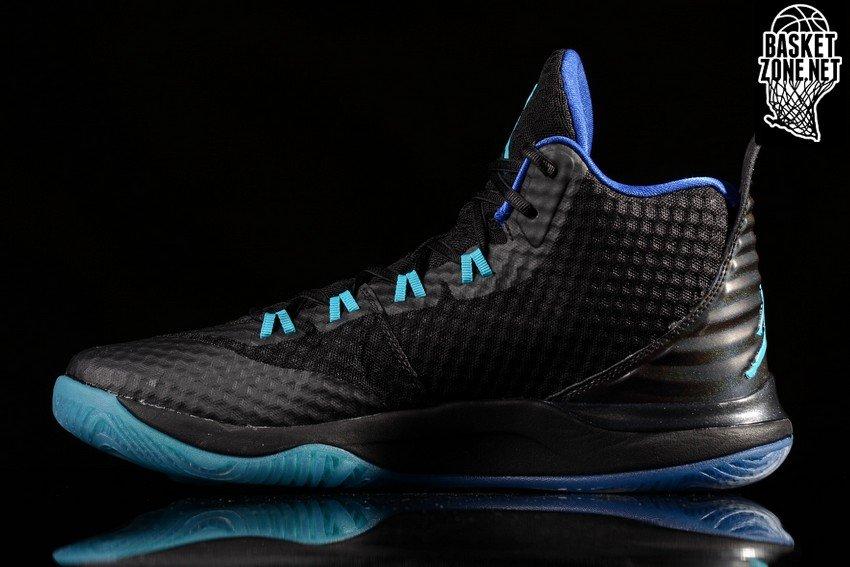 Nike Jordan Super Fly 3 Black Grey Mens Trainers 42 EU