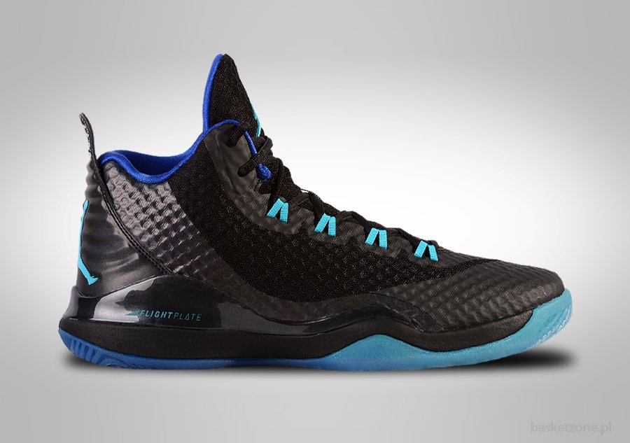 NIKE AIR JORDAN SUPER.FLY 3 PO BLACK PHOTO BLUE BLAKE GRIFFIN price €99.00   2debd03b00