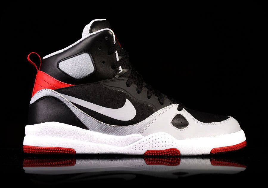 NIKE SON OF FLIGHT BLACK GREY RED