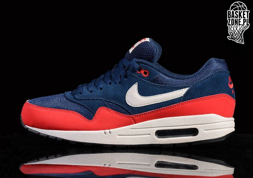 Nike Air Max 1 Midnight NavyAction RedWhiteNeptune Blue
