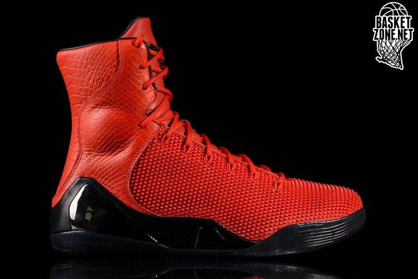 Fashion Nike Kobe 9 KRM EXT Red Mamba Challenge Red Challenge Re