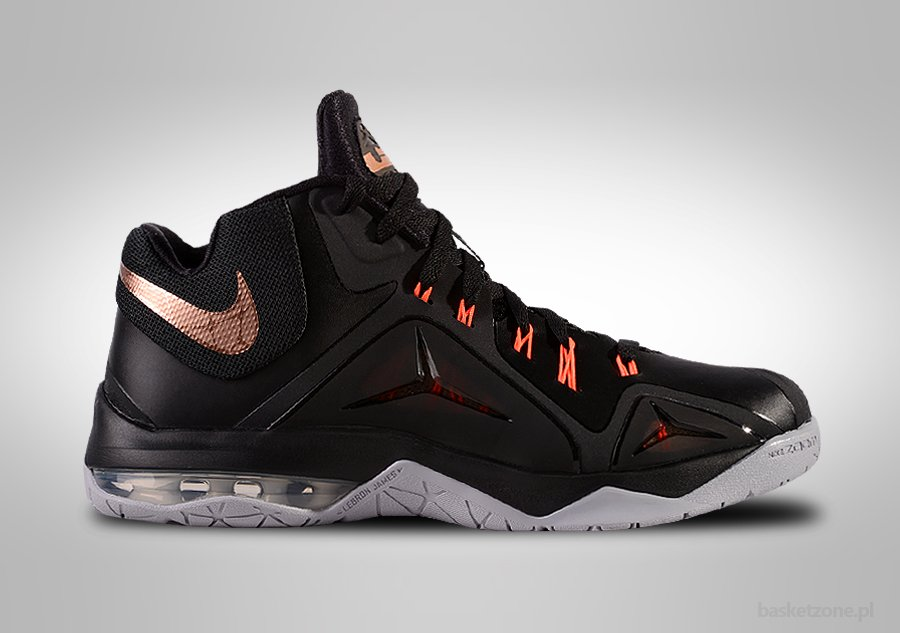 retail prices 37475 1cf76 NIKE ZOOM LEBRON AMBASSADOR VII BLACK METALLIC price €99.00  Basketzone.net