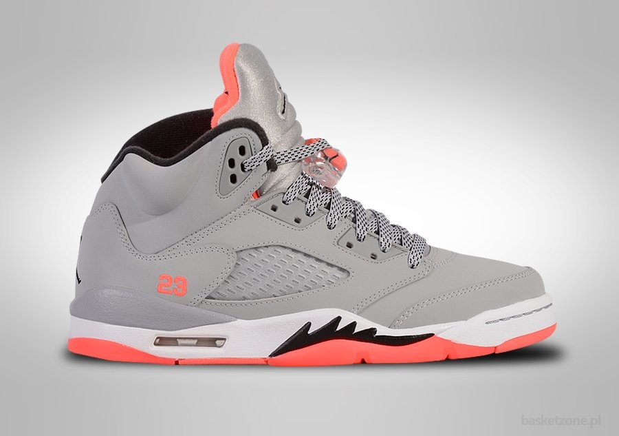 NIKE AIR JORDAN 5 RETRO HOT LAVA GS GRADE SCHOOL (SMALLER SIZES)