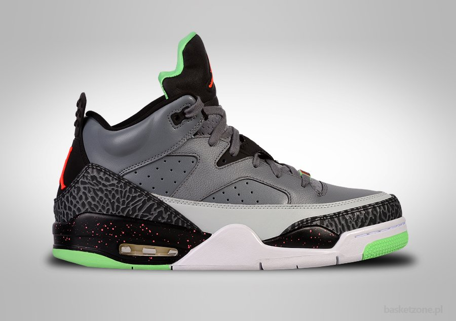 new arrival 845af 50ebd NIKE AIR JORDAN SON OF LOW COOL GREY POISON GREEN price €135.00    Basketzone.net