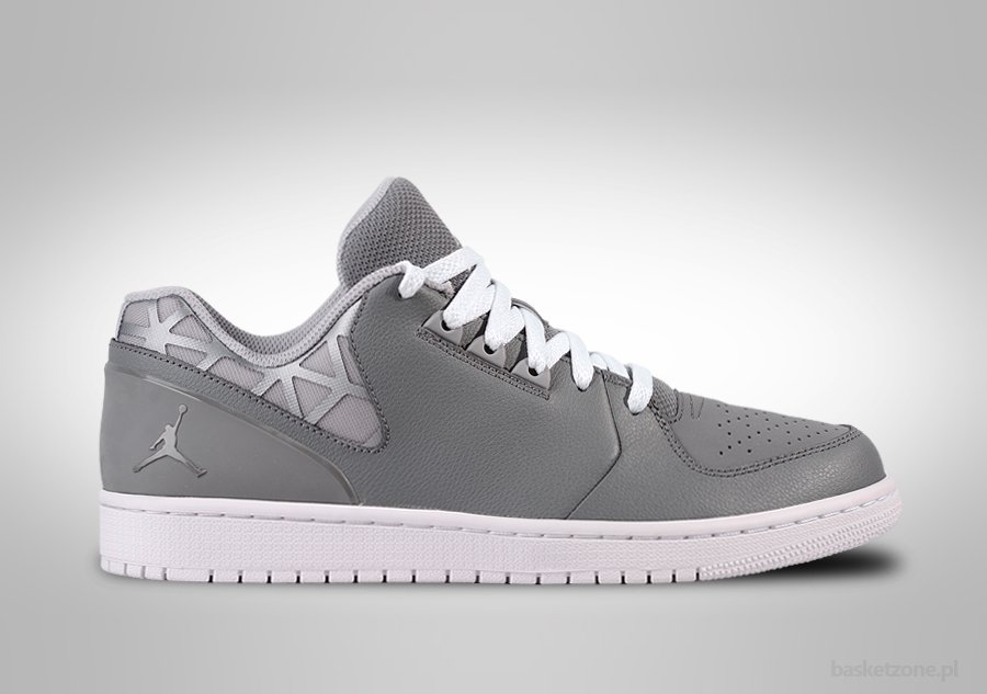 air jordan 1 flight low grey