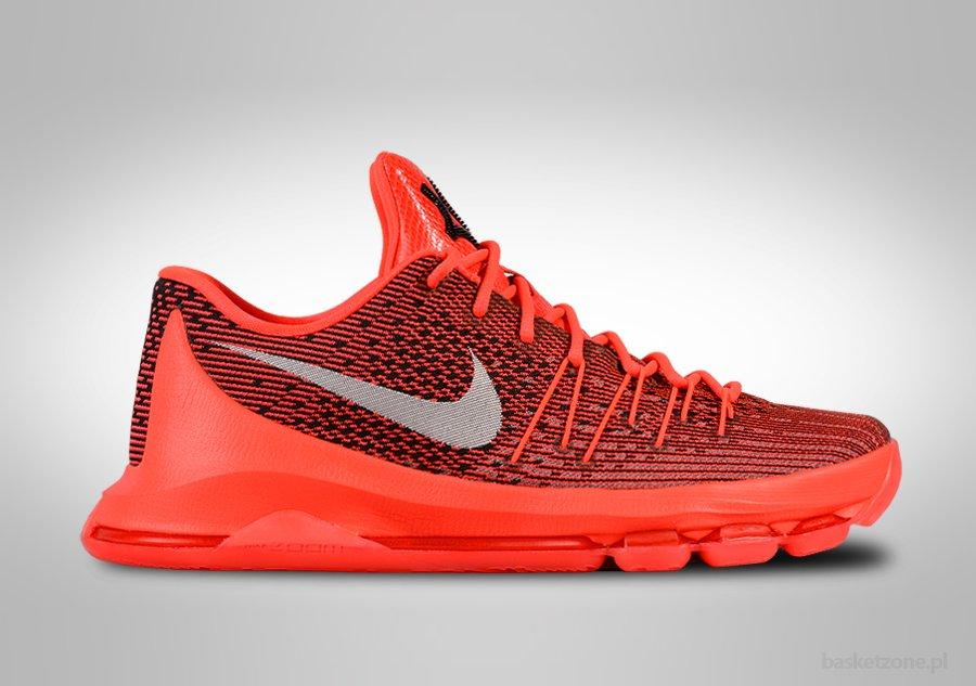Nike KD 8 VIII V8 Bright Crimson Black
