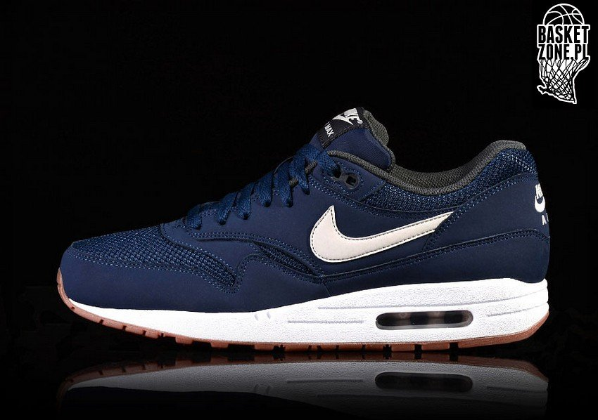 on sale cf2bb 3b3a2 NIKE AIR MAX 1 ESSENTIAL NAVY LIGHT BONE