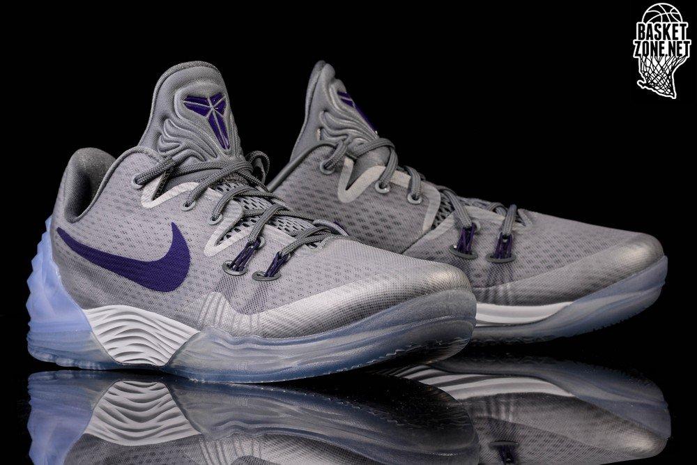 size 40 90467 1f740 ... real nike zoom kobe venomenon 5 wolf grey court purple be09c 99bab