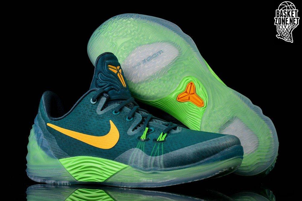 nike zoom kobe venomenon 5 emerald green sonic yellow