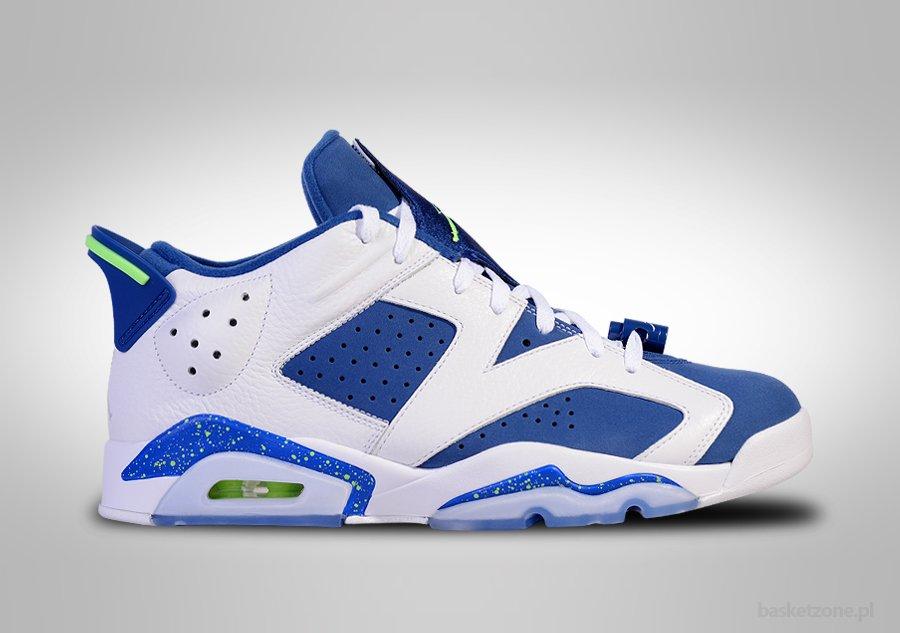 Nike Air Jordan 6 Billets Seahawks Rétro Bas