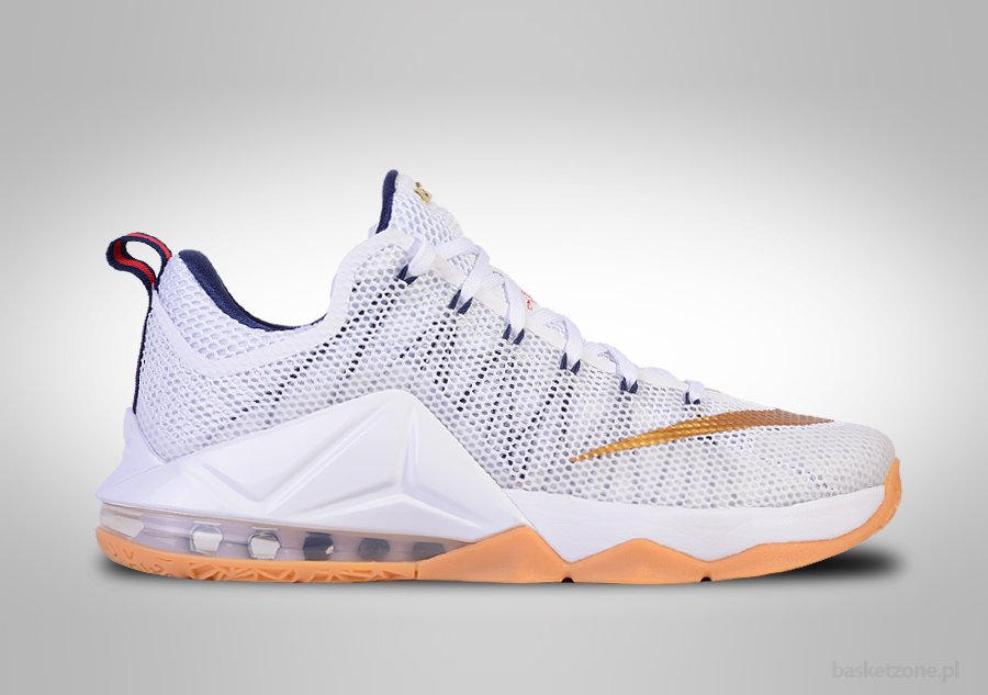 NIKE LEBRON XII LOW USA OLYMPIC GOLD