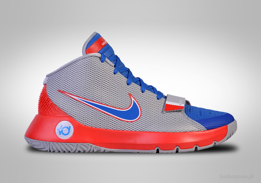 Nike KD Trey 5 III White With  Seven Colorful Sneaker