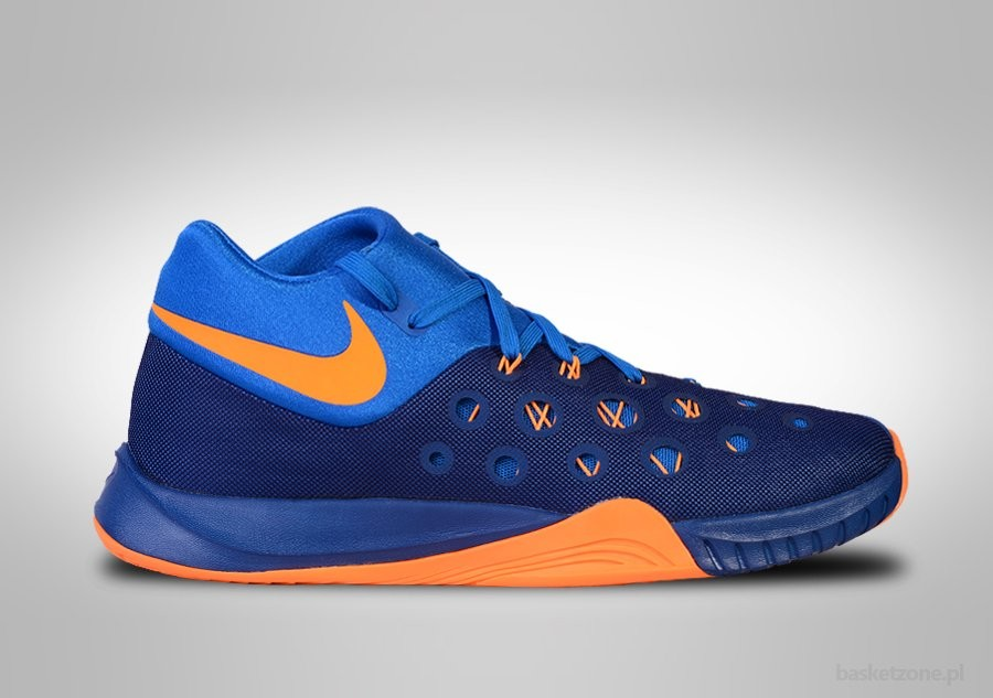 NIKE ZOOM HYPERQUICKNESS 2015 INSIGNIA BLUE/BRIGHT CITRUS