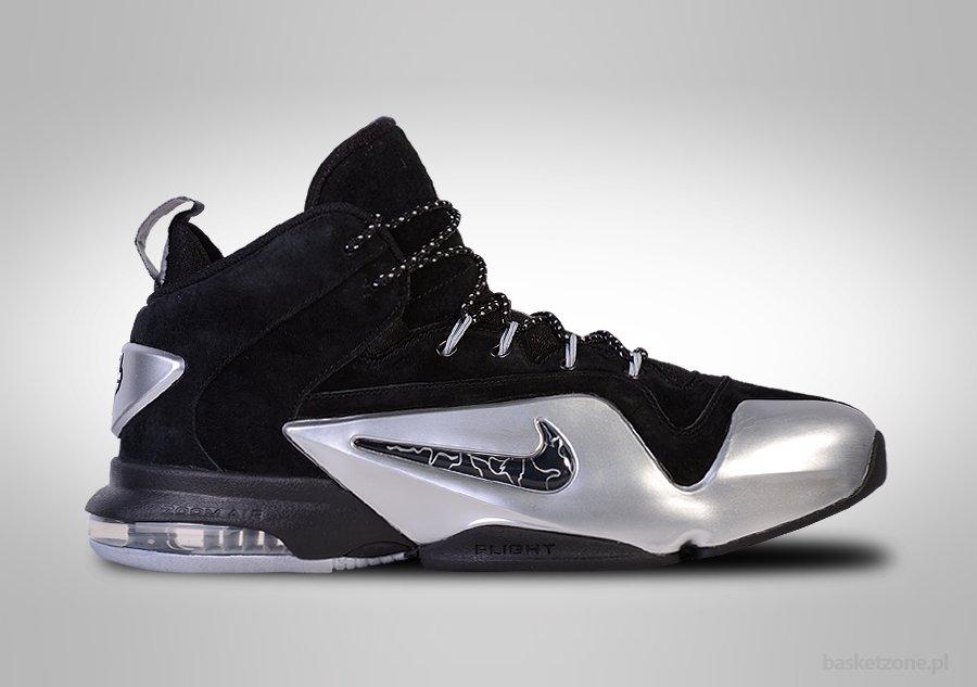 Nike Zoom Penny 6 VI Black Metallic Silver