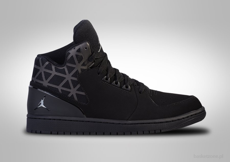 huge selection of 5783b 16f6c NIKE AIR JORDAN 1 FLIGHT 3 INTENSE BLACK price €92.50 ...