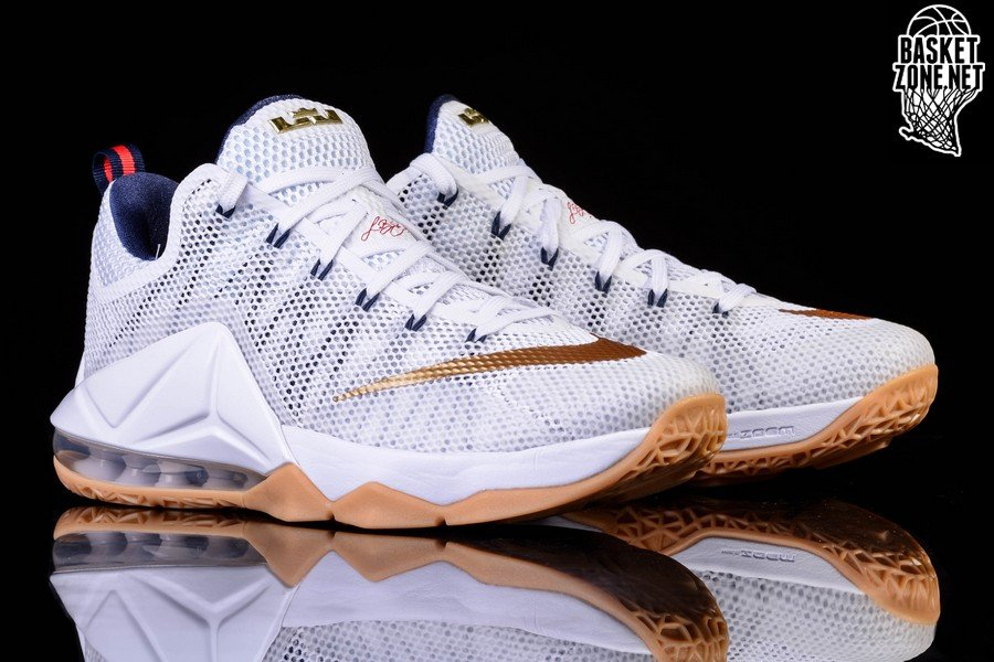 the latest 3c777 44e54 Nike Lebron Xii Low Usa Olympic Gold Price €127.50