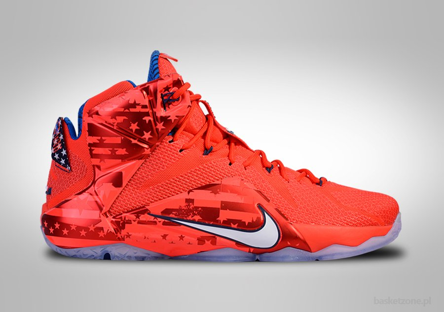 newest 90d1c 35a53 NIKE LEBRON XII INDEPENDENCE DAY price €135.00  Basketzone.n