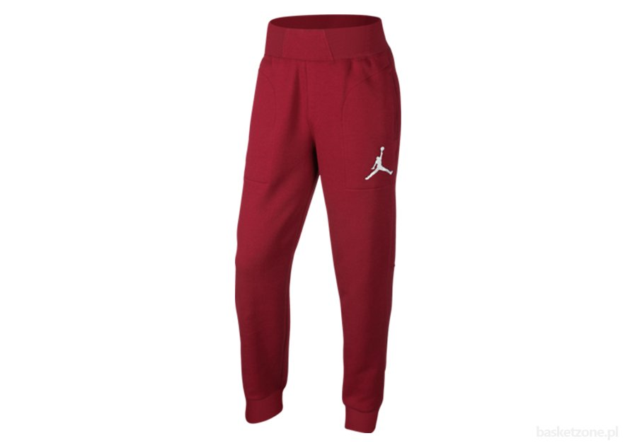 NIKE AIR JORDAN THE VARSITY SWEATPANT GYM RED